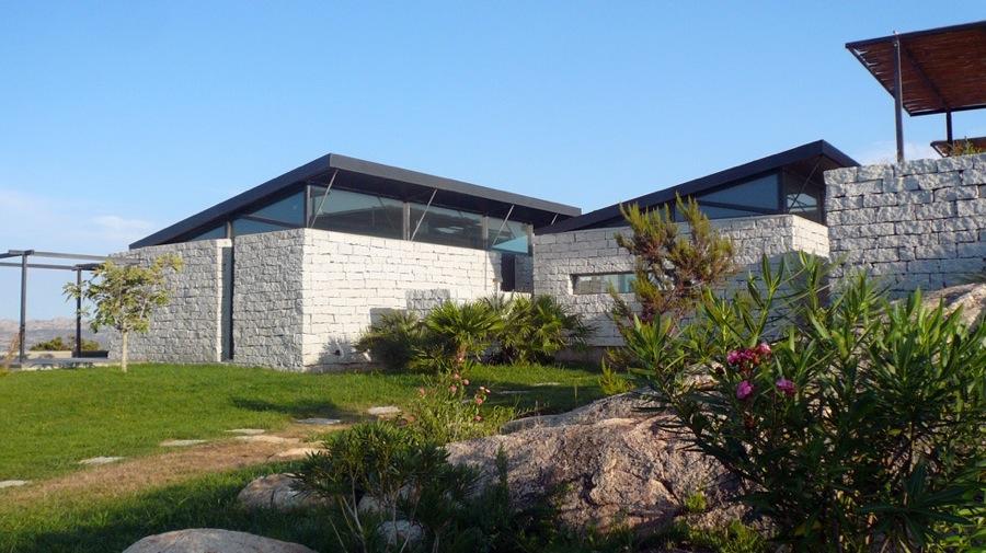 Maison individuelle en Sardaigne-jy arrivetz architecte