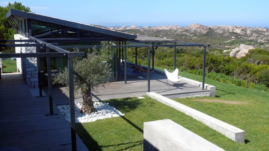 Maison individuelle en Sardaigne-vue générale-jy arrivetz architecte