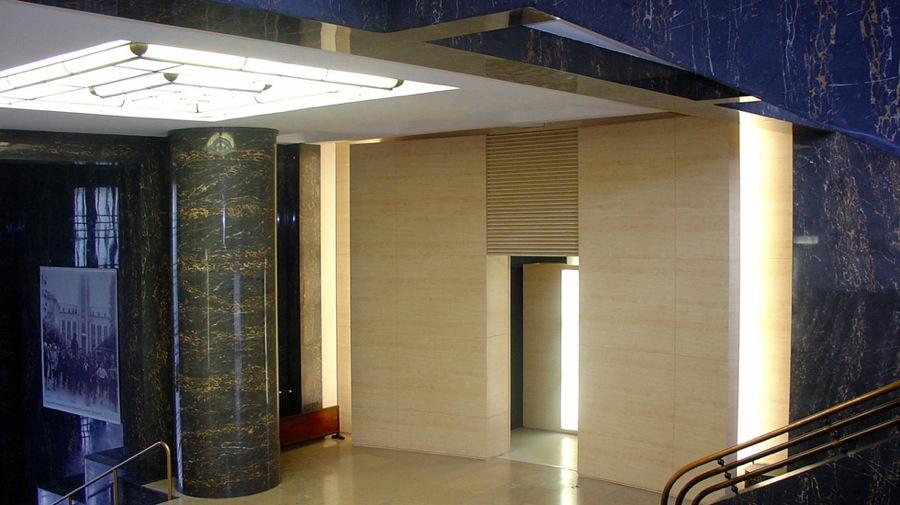 Rénovation Hotel de ville de Villeurbanne-hall d'honneur-jy arrivetz