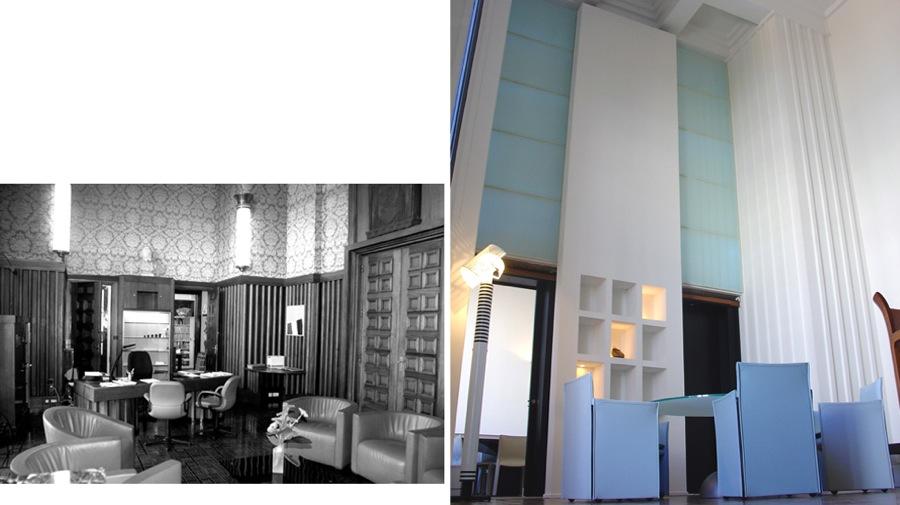 rénovation Hotel de ville de Villeurbanne-jy arrivetz-avant/après