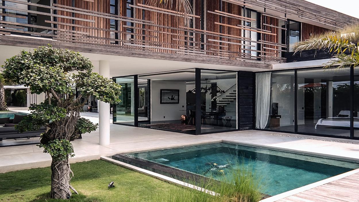 Formidable Jean Yves Arrivetz #13: Villa Contemporaine à Bali | Jean ...